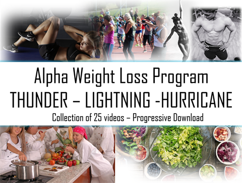 Alpha Weight Loss Program - Collection of 25 videos