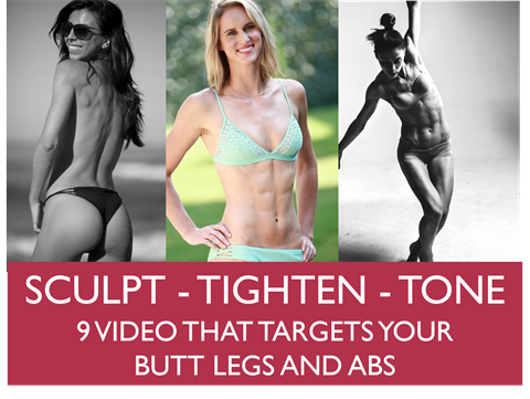 Sculpting - Tighten - Tone - 8 videos - Flux
