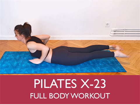 V573 - Pliates X-23 Full Body Workout. This 30 Minute Workout