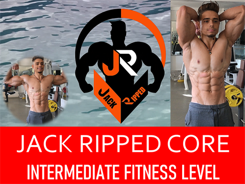 V7600 - Jack Ripped Core Workout Intermediate Level - Video 1 - FLUX