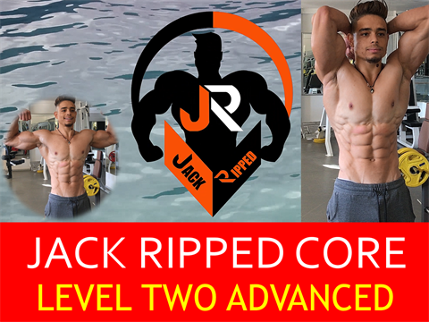 V7610 - Jack Ripped Core Workout Advanced Level - Video 2 - FLUX